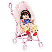 Disney Princess Puschair With Canopy & Doll