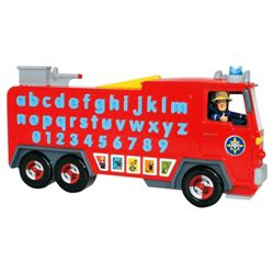 Fireman Sam Jupiters Alphabet Rescue