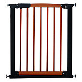 Babydan Avantgarde Pressure Indicator Safety Stair Gate, Cherry & Black