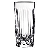Royal Doulton Manhattan Set of 4 320ml Flute Hi-Ball Glasses.