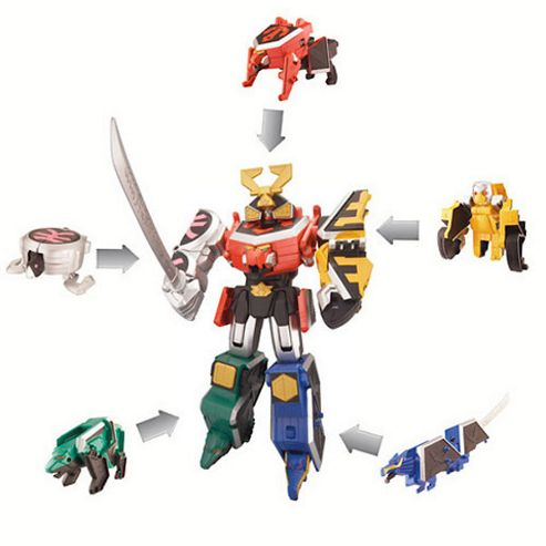 Power Rangers Samurai Dx Samurai Megazord- Assortment – Colours & Styles May Vary
