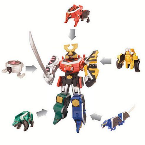 Power Rangers Samurai Dx Samurai Megazord- Assortment – Colours & Styles May Vary