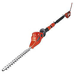 Ikra RED 500W Extendable Electric Hedge Trimmer