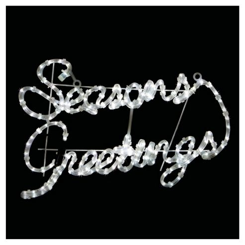Seasons Greetings rope light motif