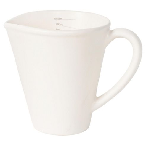 Nigella Lawson Living Kitchen 1L Measuring Jug, Cream
