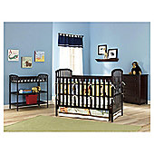 Kids Line La Jobi Nursery Furniture Room Set In A Box, Cherry