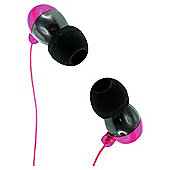 KitSound KS1 Earphones with Microphone Pink