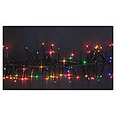 360 Low voltage Indoor/ Outdoor LED twinkle cluster lights, multi-colour