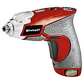 Einhell Red 3.6v Lithium Ion Cordless Screwdriver