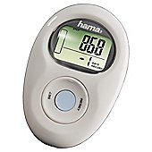Hama PM-Pro+ Pedometer(up to 99999 steps) - White