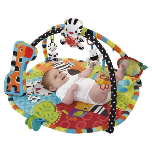 Bright Starts Spots & Stripes Safari Baby Activity Play Gym
