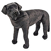 Melissa & Doug Black Lab - Giant Soft Toy