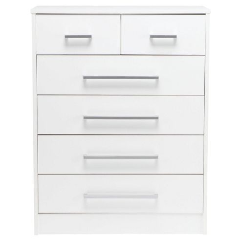Saplings Larrisa Chest of Drawers, White