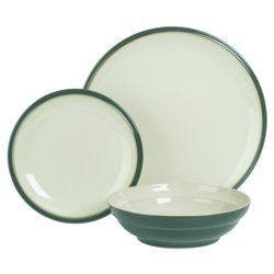 Denby Everyday 12 Piece, 4 Person Dinner Set - Teal