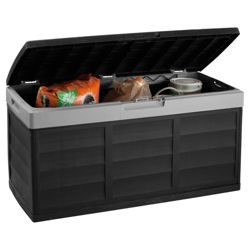 Keter Pack N Go Garage Storage Box black grey