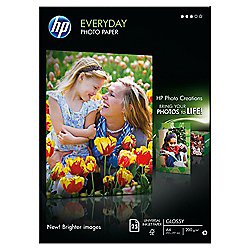 HP Everyday A4 Glossy Photo Paper - 25 Sheets