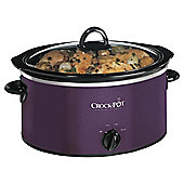 Crockpot 3.5l Slow Cooker, Purple