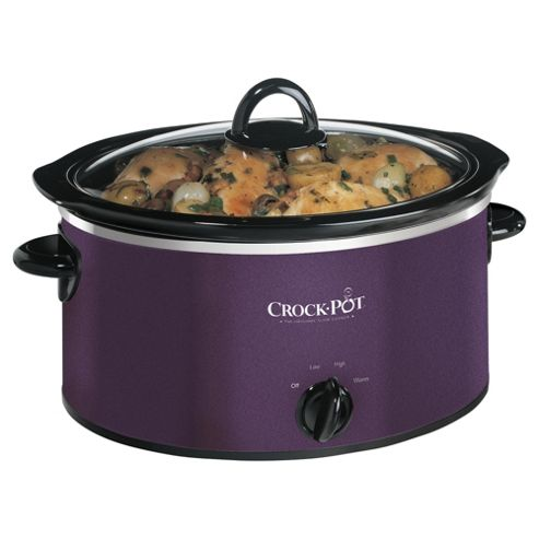 Crockpot 3.5l Purple Slow Cooker