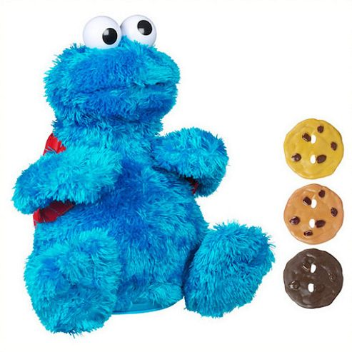 Playskool Sesame Street Count 'n' Crunch Cookie Monster