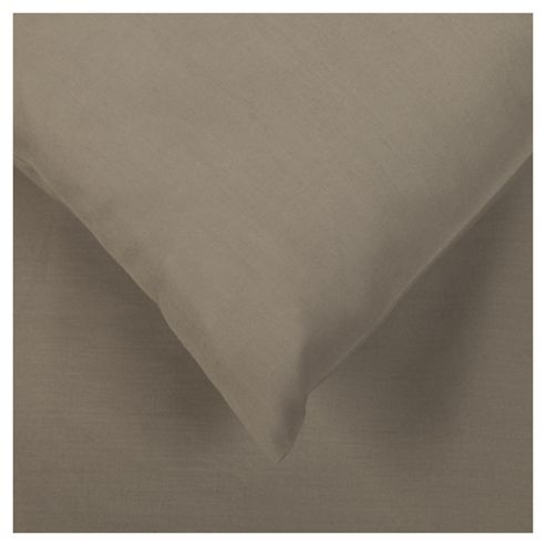 Tesco Pillowcases Set of 4 Steel Grey