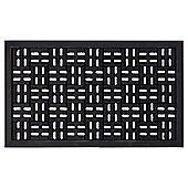 Trellis Chess Rubber Outdoor Mat 75x45cm