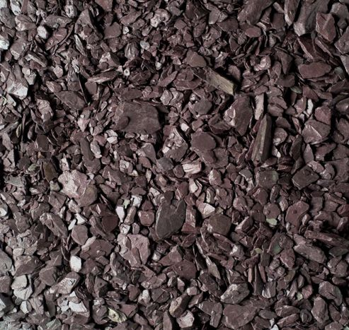 Plum Slate 20mm Decorative Stone