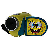 "Spongebob Digital Camcorder, Yellow, 4x Digital Zoom, 1.5"" LCD Screen"