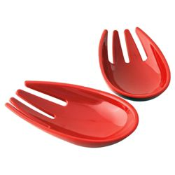 Nigella Lawson Melamine Serving Hands, Red