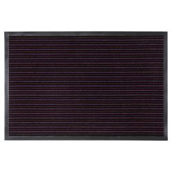 Large Strip Barrier Door Mats Twin Purple