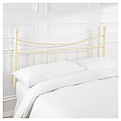 Lilly Single Headboard, Cream