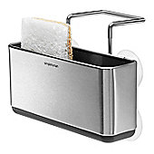 Simplehuman Slim Brushed Stainless Steel Sink Caddy