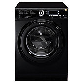 Hotpoint Ultima WMUD942K Washing Machine, 9kg Wash Load, 1400 RPM Spin, A++ Energy Rating. Black