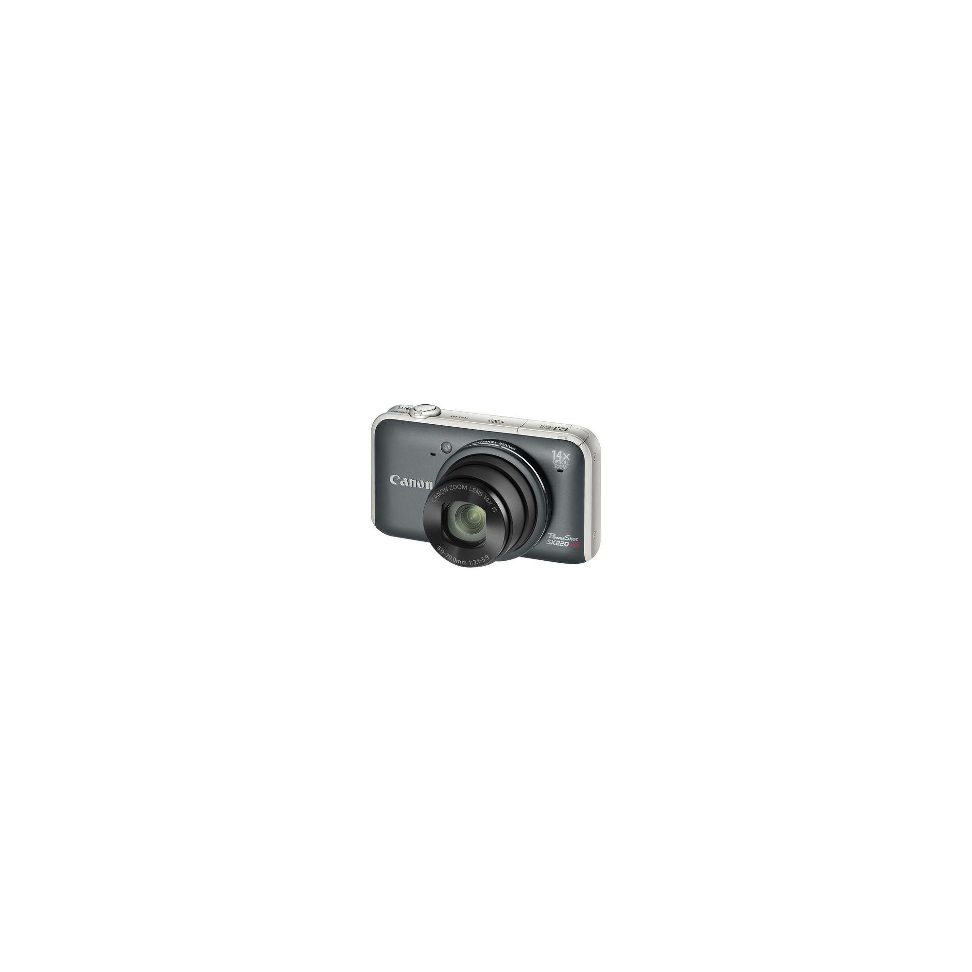 Canon PowerShot SX220 HS Digital Camera - Grey