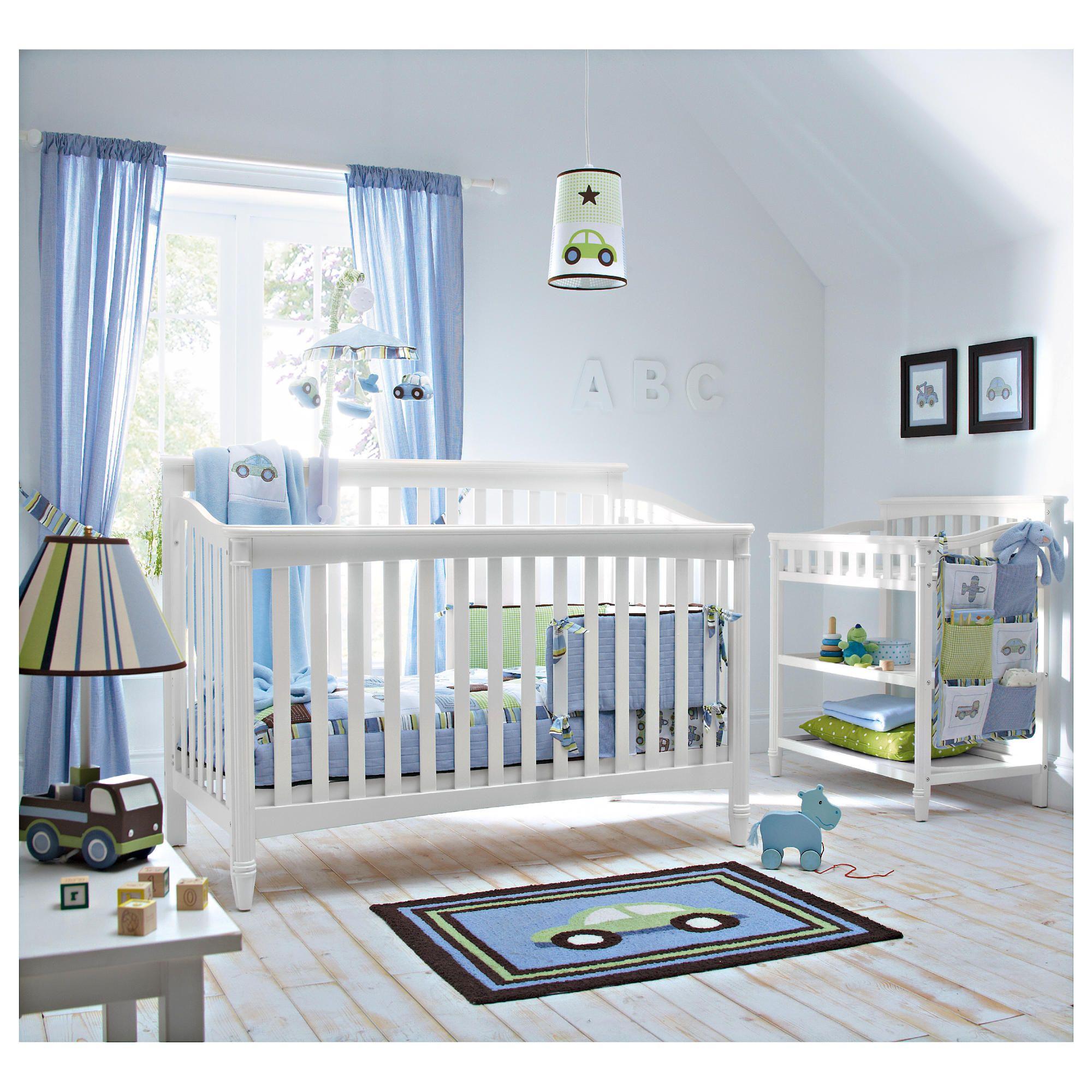Kids Line La Jobi Geneva 4 in 1 Cot Bed, White at Tesco Direct