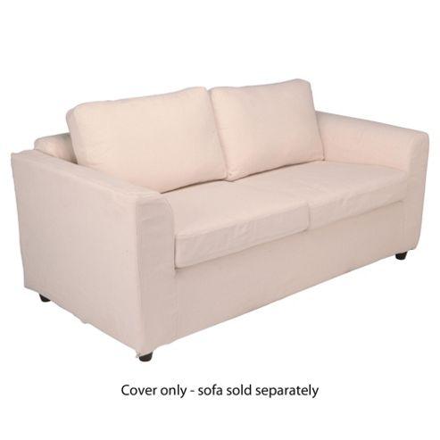 Ashley Loose Cover For Medium Sofa, Natural