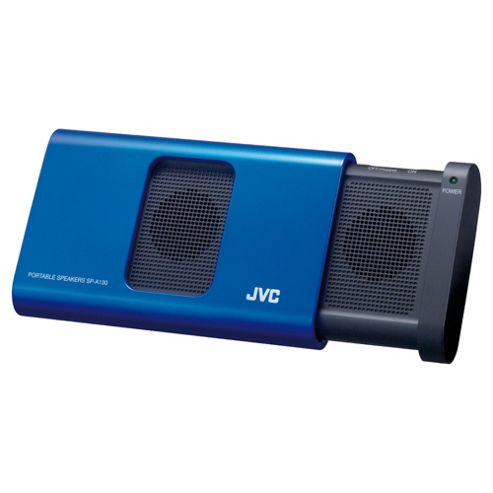 JVC SP-A130-A-E Portable Stereo Speaker - Blue