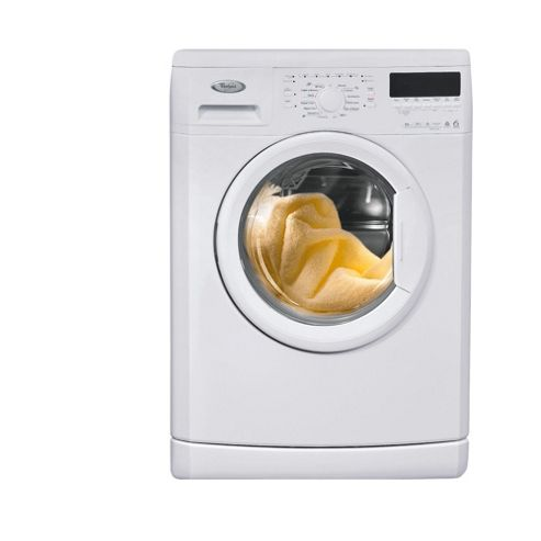 Whirlpool WWDC 8420 Washing Machine, 8kg Wash Load, 1400 RPM Spin, A+ Energy Rating. White