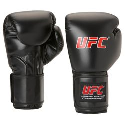 UFC Boxing Gloves, Black