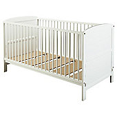 Saplings Larrisa Cot Bed, White
