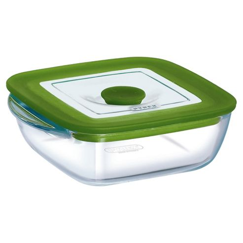 Pyrex 4 individual 4in1 Square Casserole Dishs with Lids