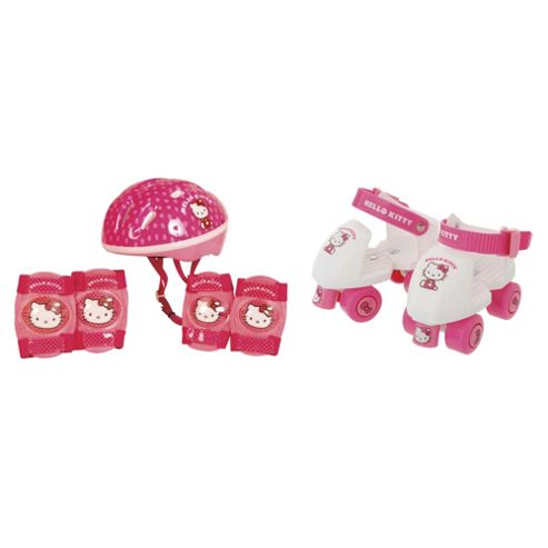 Hello Kitty Skates/Helmet/Pads Set