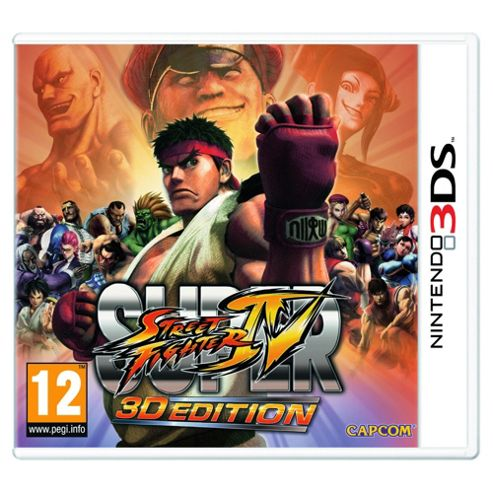 Super Street Fighter Iv - 3D Edition (3DS)