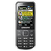 Tesco Mobile Samsung C3530 Chrome Silver