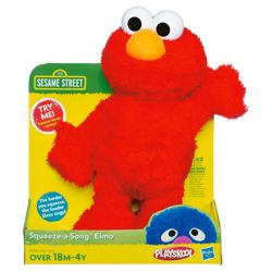 Sesame Street Squeeze and Sing Elmo