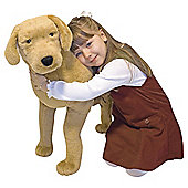 Melissa & Doug Yellow Labrador Giant 170cm Soft Toy