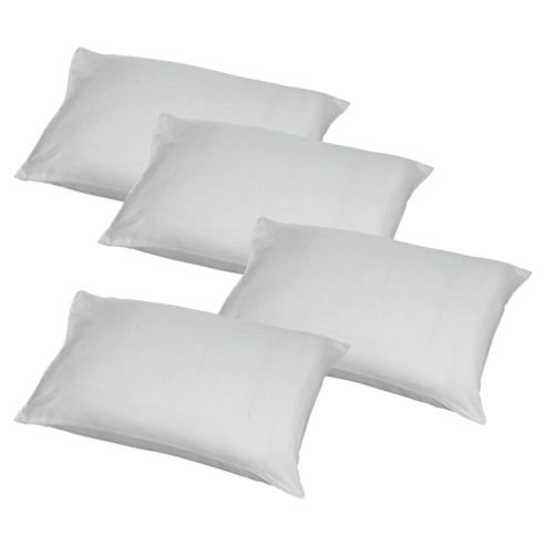 Tesco Standard Pillow 4pack