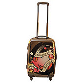 Pink Cookie Always & Forever 4-Wheel Hard Shell Suitcase, Small