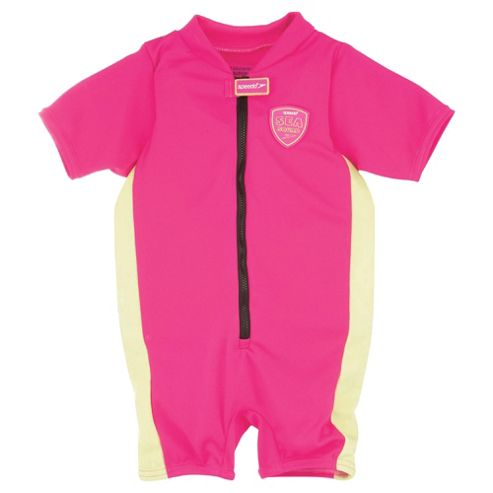 Speedo Sea Squad Floatsuit, 2-3 years, Pink