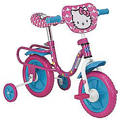 "Hello Kitty 10"" Kids' Bike with Stabilisers"
