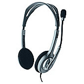 Logitech H110 Stereo - Noise Cancelling 3.5mm Overhead PC Headset & Microphone